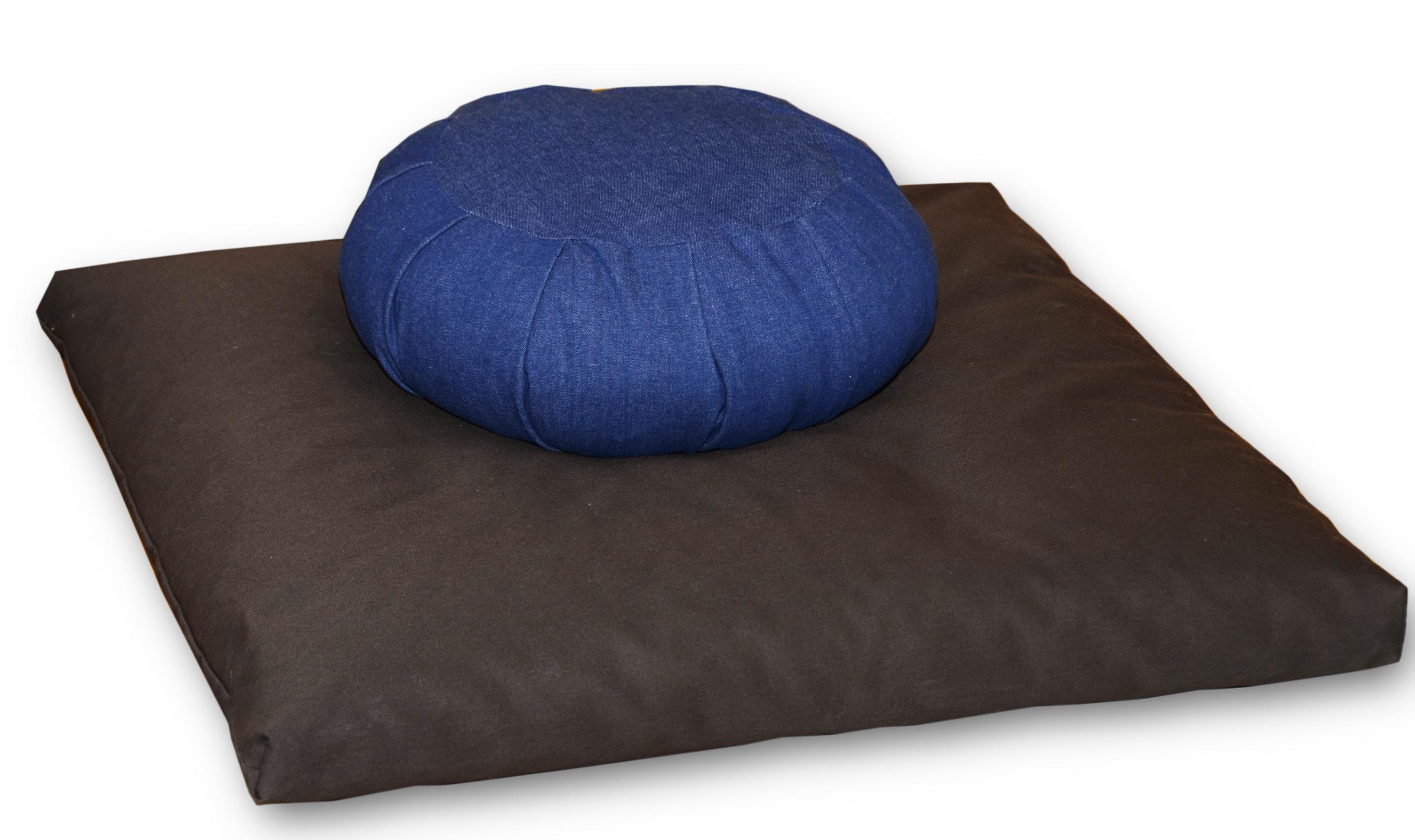 coussins de m ditation zafu et zabuton bor al atelier de matelas. Black Bedroom Furniture Sets. Home Design Ideas
